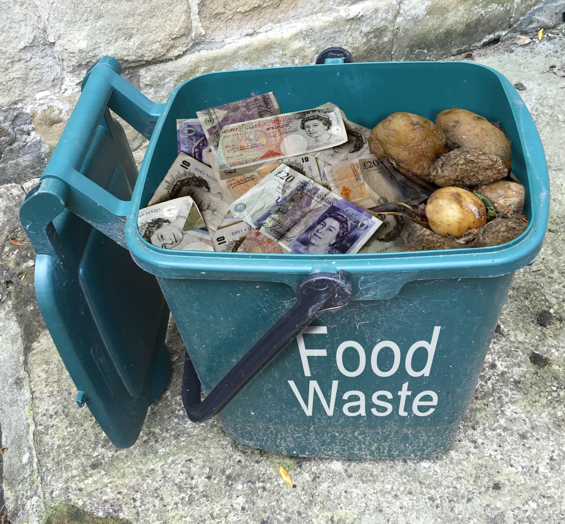 Gaspillage de nourriture. Source: Image fournie par EatBy App.