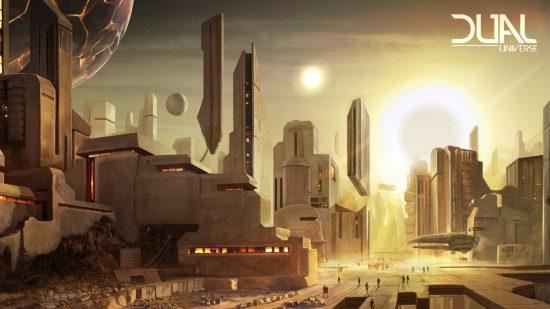 Création Dual Universe dans le jeu