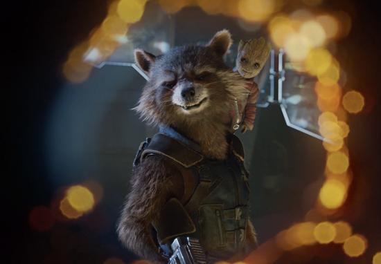 Une scène de la bande-annonce avec Rocket et Baby Groot! | Guardians of the Galaxy Vol. 2