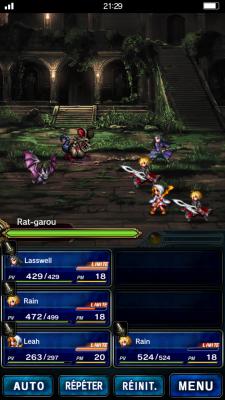Les personnages à leurs tous débuts   Final Fantasy Brave Exvius