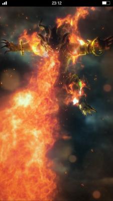 """Les animations des chimères (""""summons"""") sont courtes mais impressionantes.   Final Fantasy Brave Exvius"""