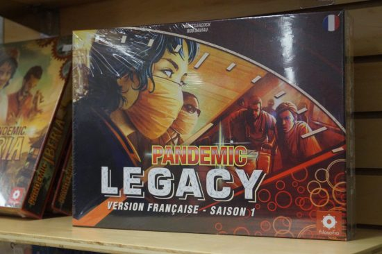 Jeu de société gagnant du Lys Passionné : Pandemic Legacy