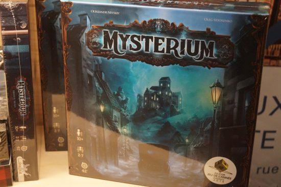 Jeu de société gagnant du Lys Grand public : Mysterium