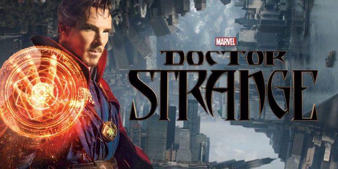 Benedict Cumberbatch dans le rôle de Docteur Strange