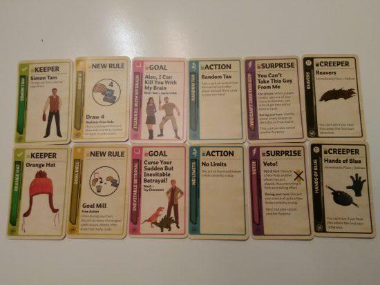Des exemples de cartes   Firefly Fluxx
