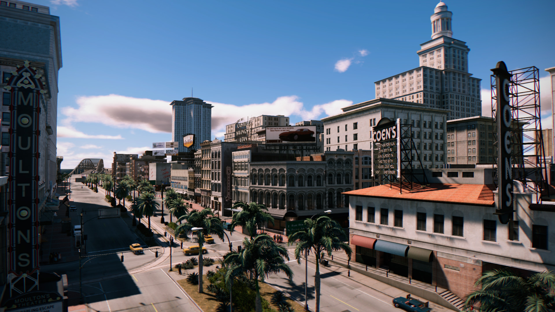 La ville de New Bordeaux de Mafia 3