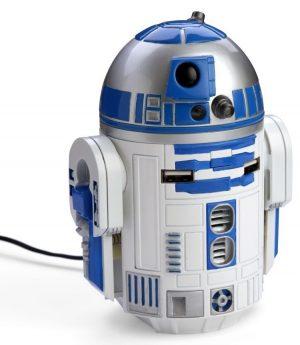 Chargeur pour voitures R2-D2 | [Noël 2016] Liste de cadeaux geek pour toute la famille