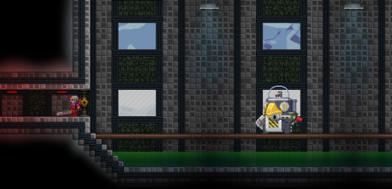 | Deadwing, un boss secondaire. | Starbound