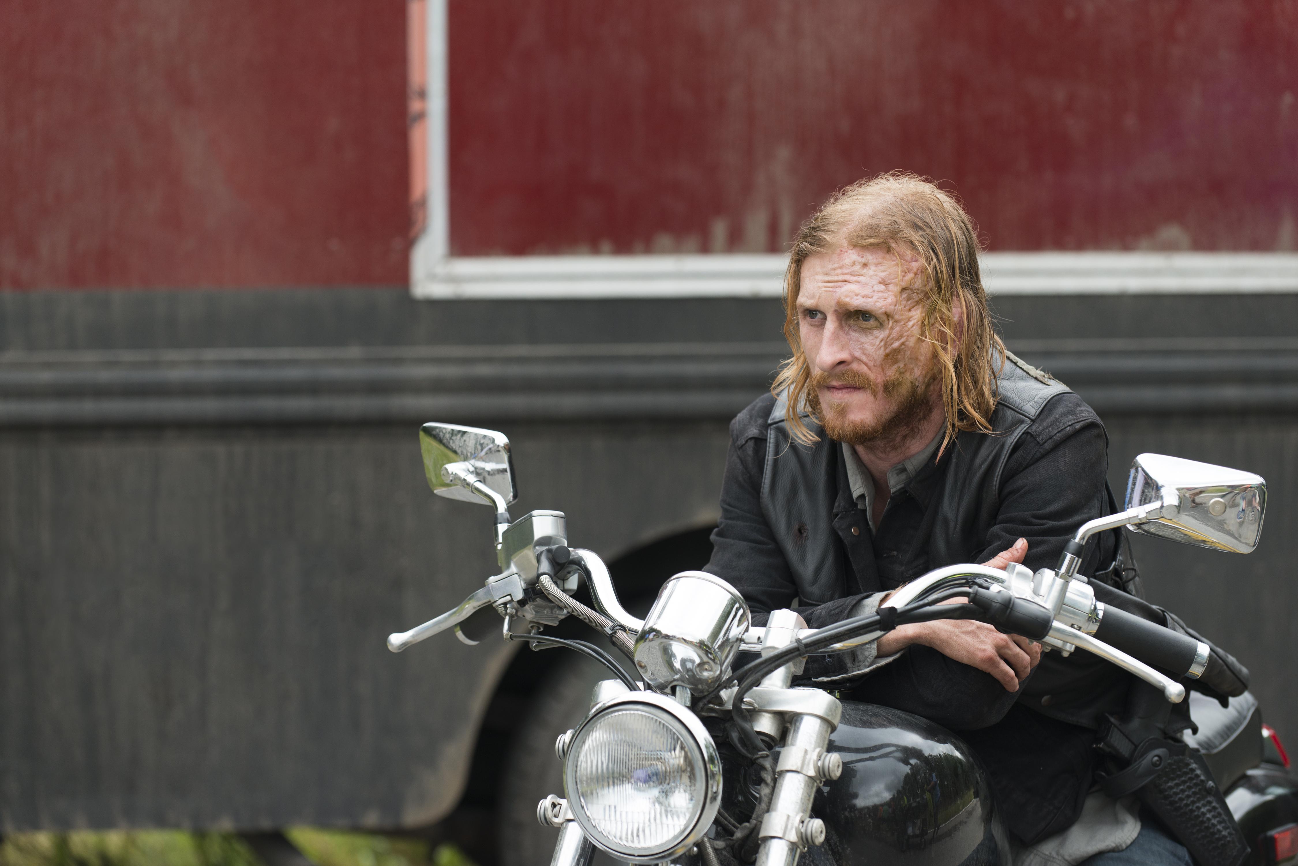 Dwight (Austin Amelio)- The Walking Dead Saison 7 Épisode 3 - Photo: Gene Page/AMC