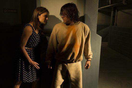 Daryl Dixon (Norman Reedus), Sherry (Christine Evangelista)- The Walking Dead Saison 7 Épisode 3 - Photo: Gene Page/AMC