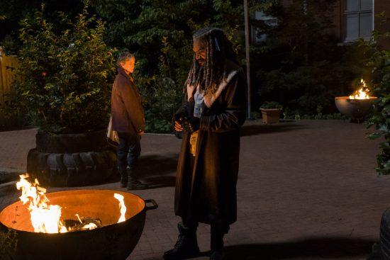 Ezekiel (Khary Payton), Carol Peletier (Melissa McBride)- The Walking Dead Saison 7 Épisode 2 - Photo: Gene Page/AMC
