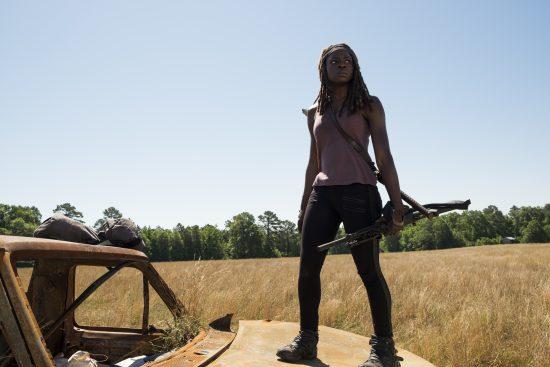 Michonne (Danai Gurira) - The Walking Dead Saison 7 Épisode 4 - Photo: Gene Page/AMC