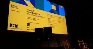 Une conférence-débat sur la réalité virtuelle s'est tenue vendredi dans le cadre des Rencontres internationales du documentaire de Montréal chez Moment Factory.