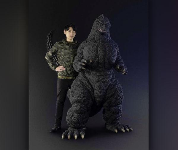 Premium Bandai lance un Godzilla grandeur nature... ou presque | Source: Rocketnews24