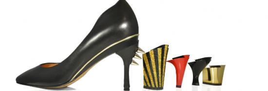 Une paire de chaussures TANYA HEATH avec talon interchangeable | [Noël 2016] Catherine et sa liste de trucs geek et super chouettes