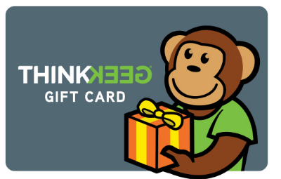 Gift Card | ThinkGeek