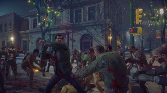 Le jeu ne se déroule pas que dans un environnement comme le premier Dead Rising, mais à travers la ville