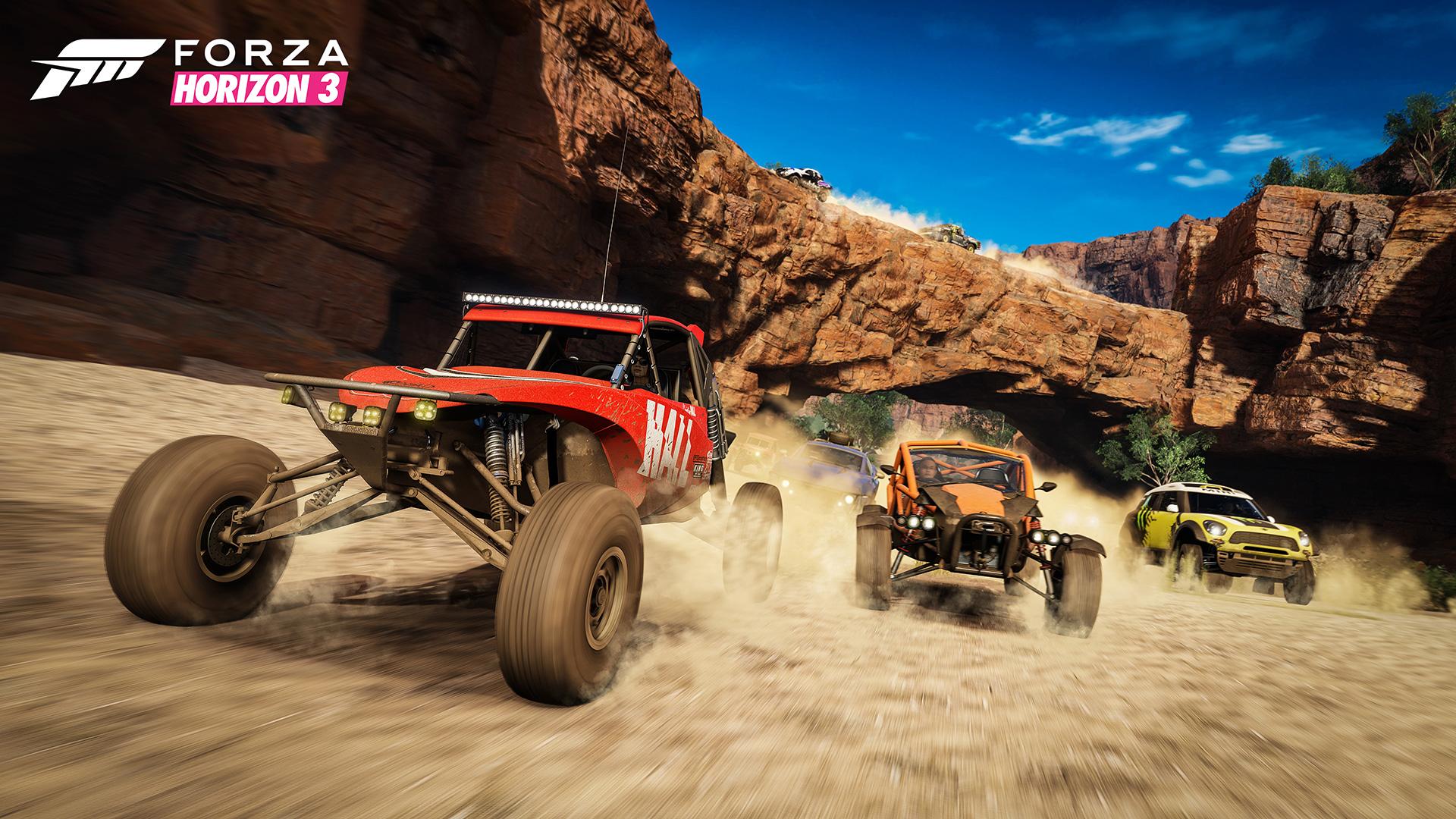 Forza Horizon 3, qui était déjà un des plus beaux titres sur le marché, est encore plus impressionnant avec la fonction HDR