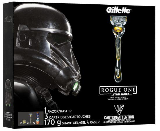 Trousse de rasage Gillette Rogue One | 10 idées cadeaux geeks
