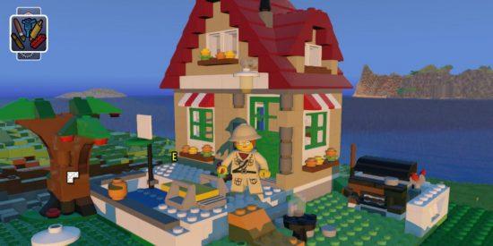 Retrouvez la joie de votre enfance à jouer avec les blocs Lego et tentez de recréer votre propre maison!