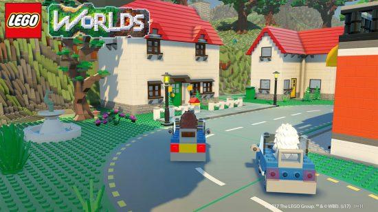 Le jeu offre un mode multijoueur en coopératif et compétitif | LEGO Worlds