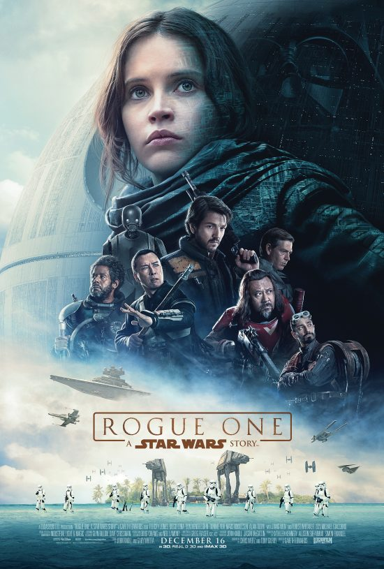 L'affiche officielle de Rogue One: a Star Wars story