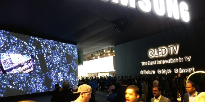 CES2017 Samsung