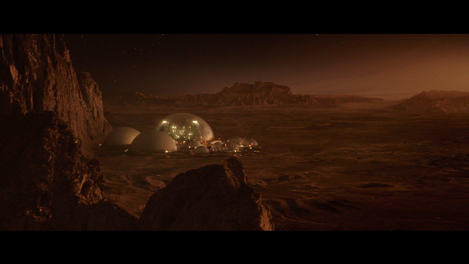 La station scientifique sur Mars. Source IMDB