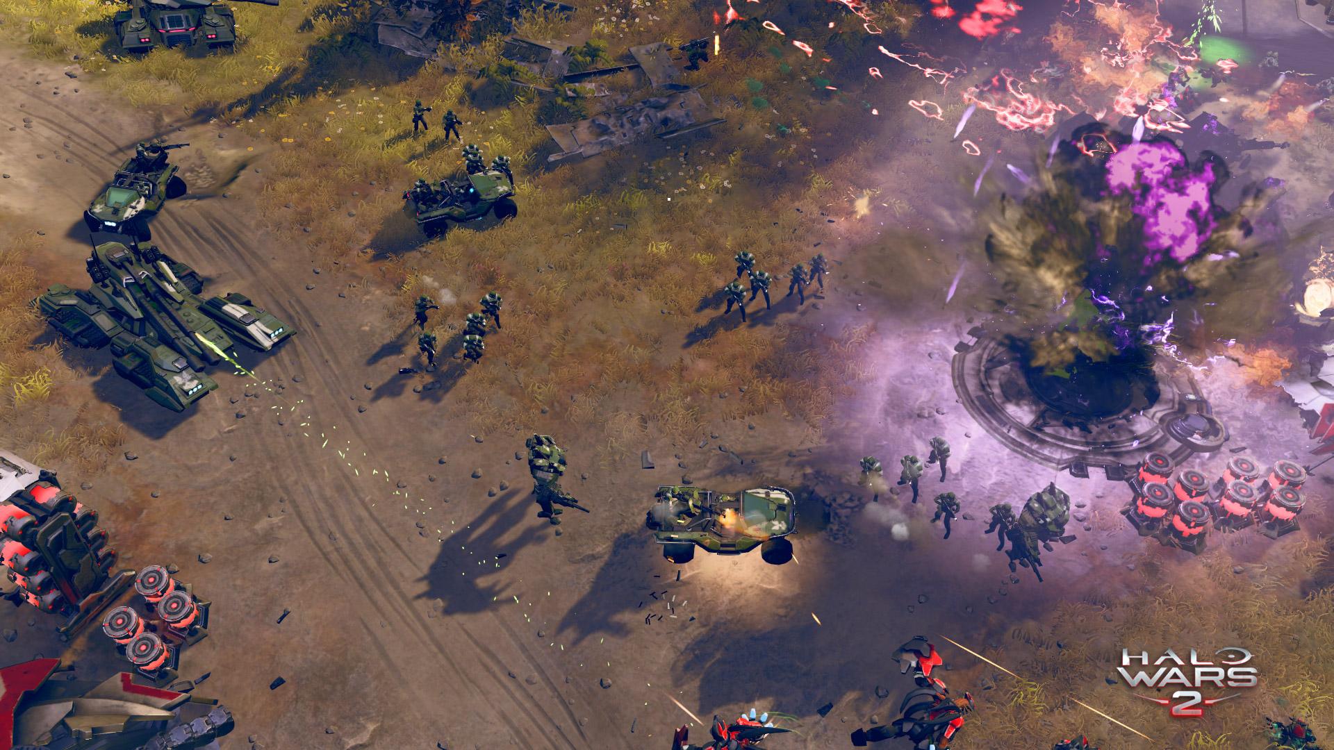 Le jeu met à votre disposition plusieurs armes de destruction massive