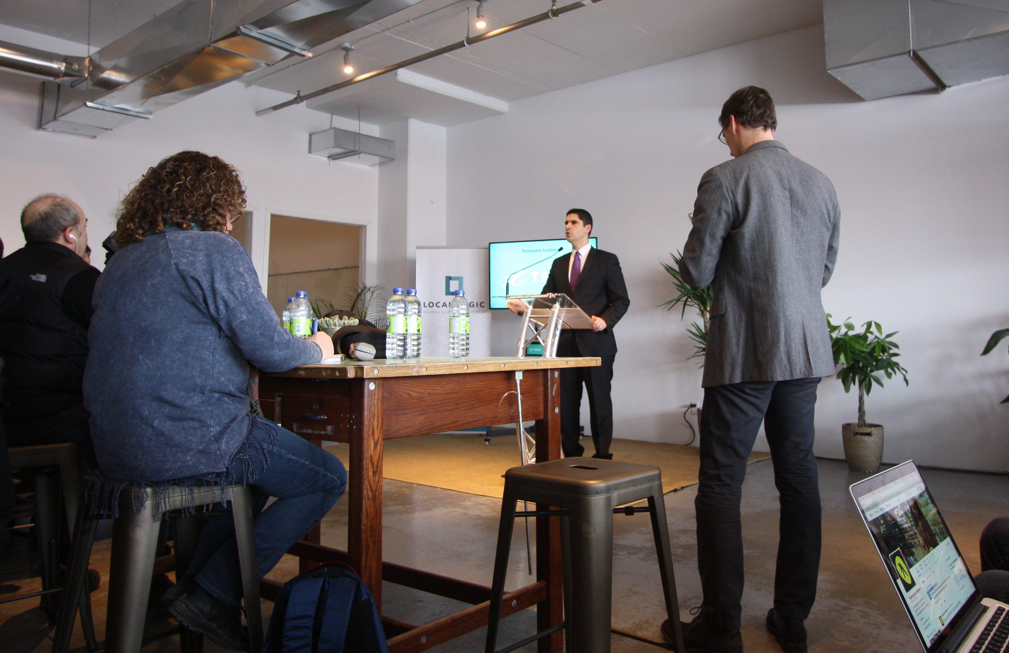 M. Harout Chitilian, Responsable de la Ville intelligente ainsi que des technologies de l'information pour la Ville de Montréal. Image: SC