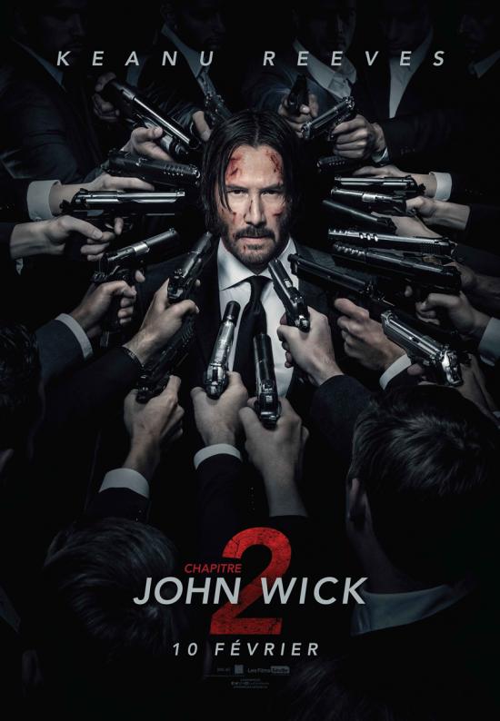John Wick: Chapitre 2 - Affiche