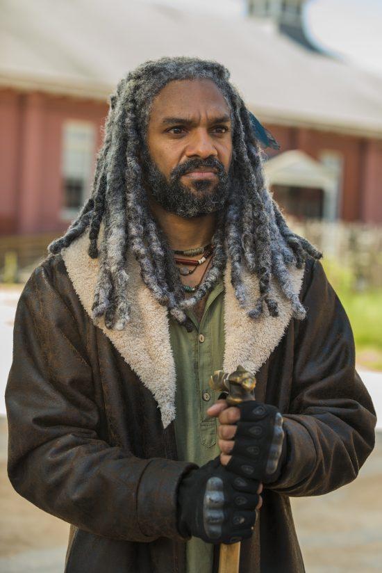 Ezekiel (Khary Payton)- The Walking Dead Saison 7 Épisode 9 - Photo: Gene Page/AMC