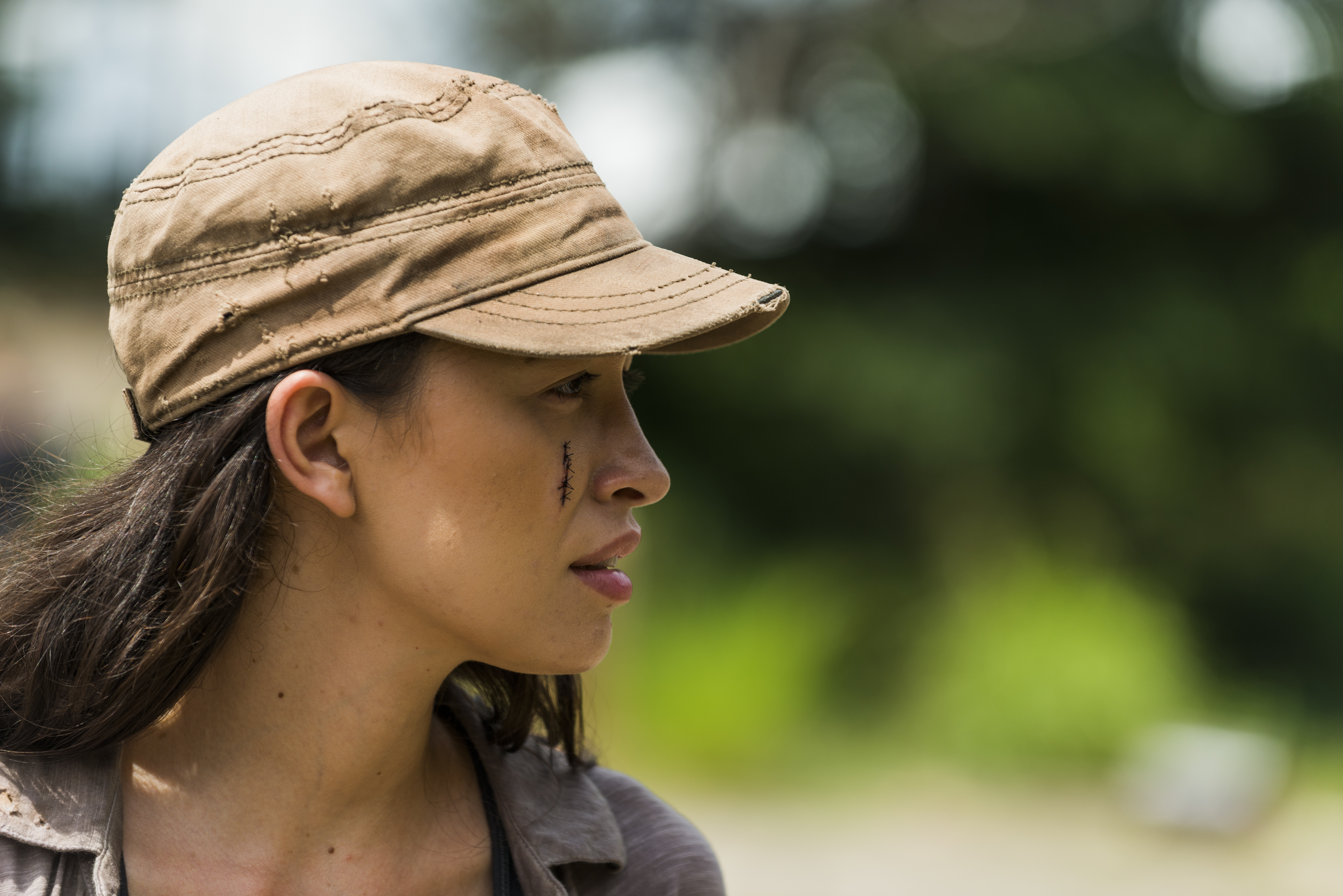Rosita Espinosa (Christian Serratos)- The Walking Dead Saison 7 Épisode 9 - Photo: Gene Page/AMC