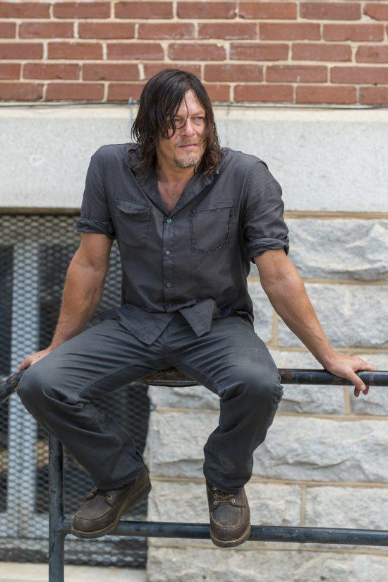 Daryl Dixon (Norman Reedus)- The Walking Dead Saison 7 Épisode 10 - Photo: Gene Page/AMC