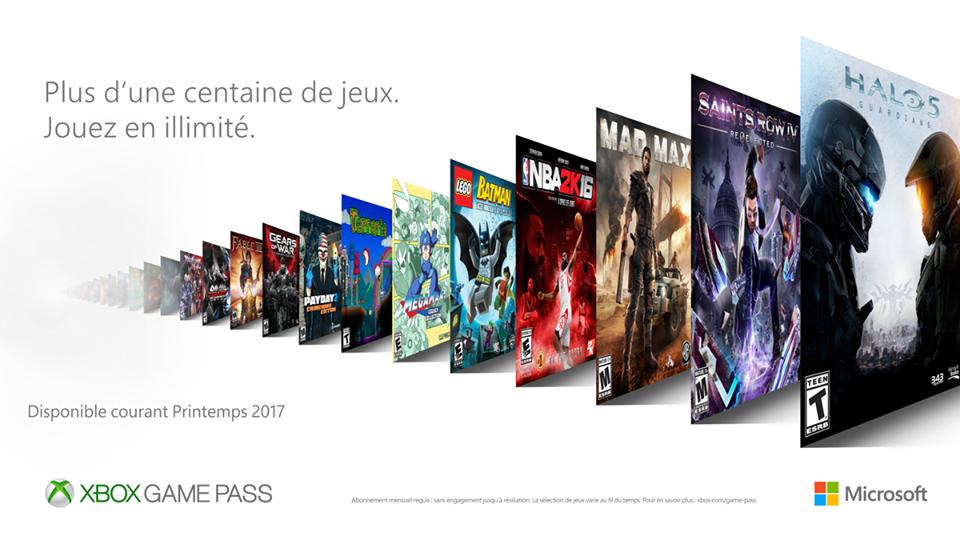 """Xbox Game Pass : Microsoft lance son """"Netflix"""" du jeu vidéo"""