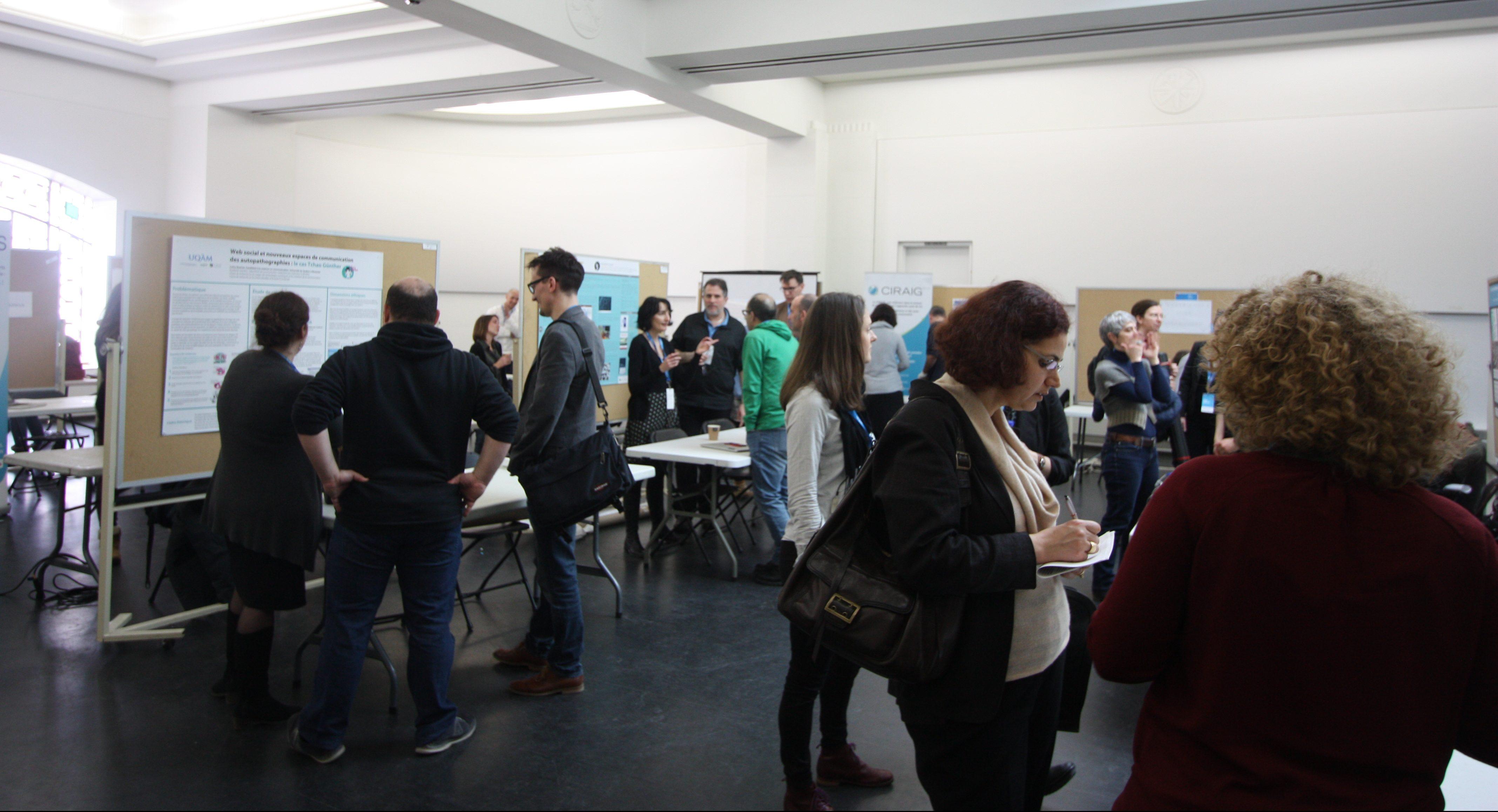 Le Forum numérique s'est tenu à l'UQÀM les 23 et 24 mars derniers. Image: SC