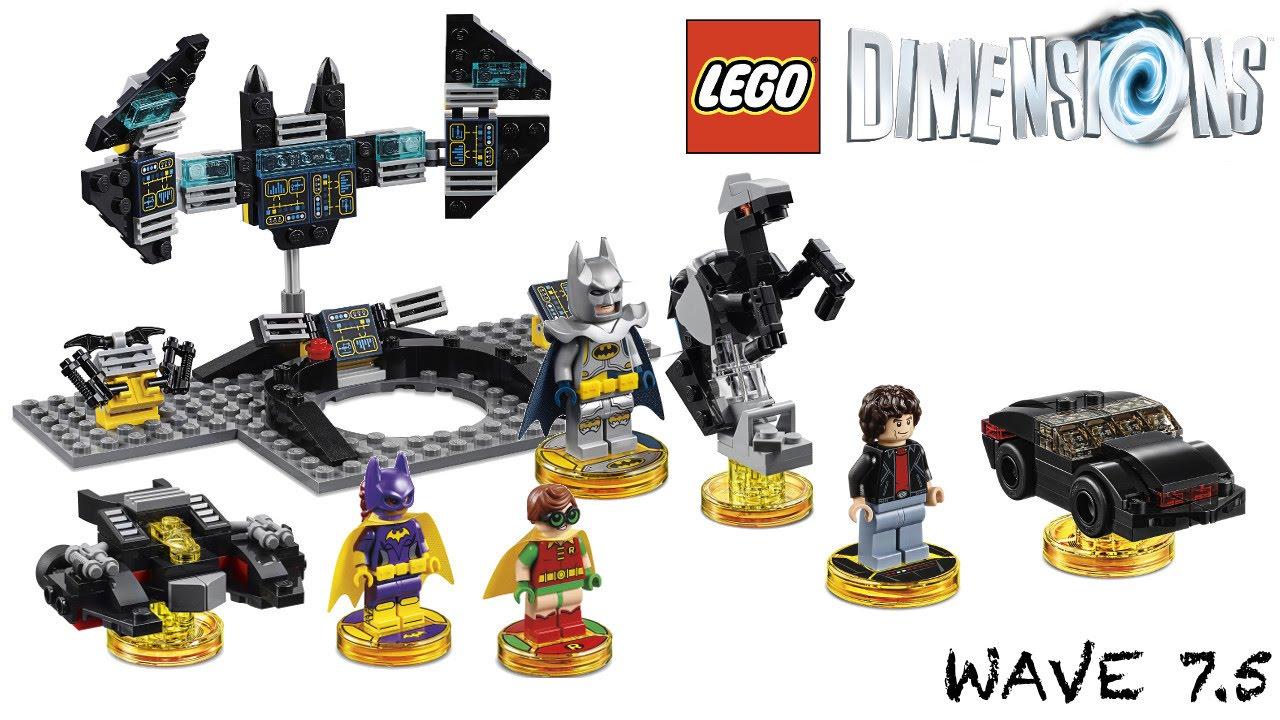 LEGO Dimensions The LEGO Batman Movie fait partie de la dernière vague d'expansions pour le jeu qui comprend aussi Knight Rider