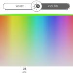 L'éventail des 16 millions de couleurs