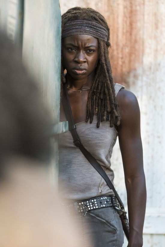 Danai Gurira - Michonne - The Walking Dead Saison 7 Épisode 12 - Photo: Gene Page/AMC