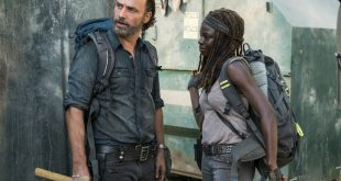Rick Grimes (Andrew Lincoln), Michonne (Danai Gurira) - The Walking Dead Saison 7 Épisode 12 - Photo: Gene Page/AMC