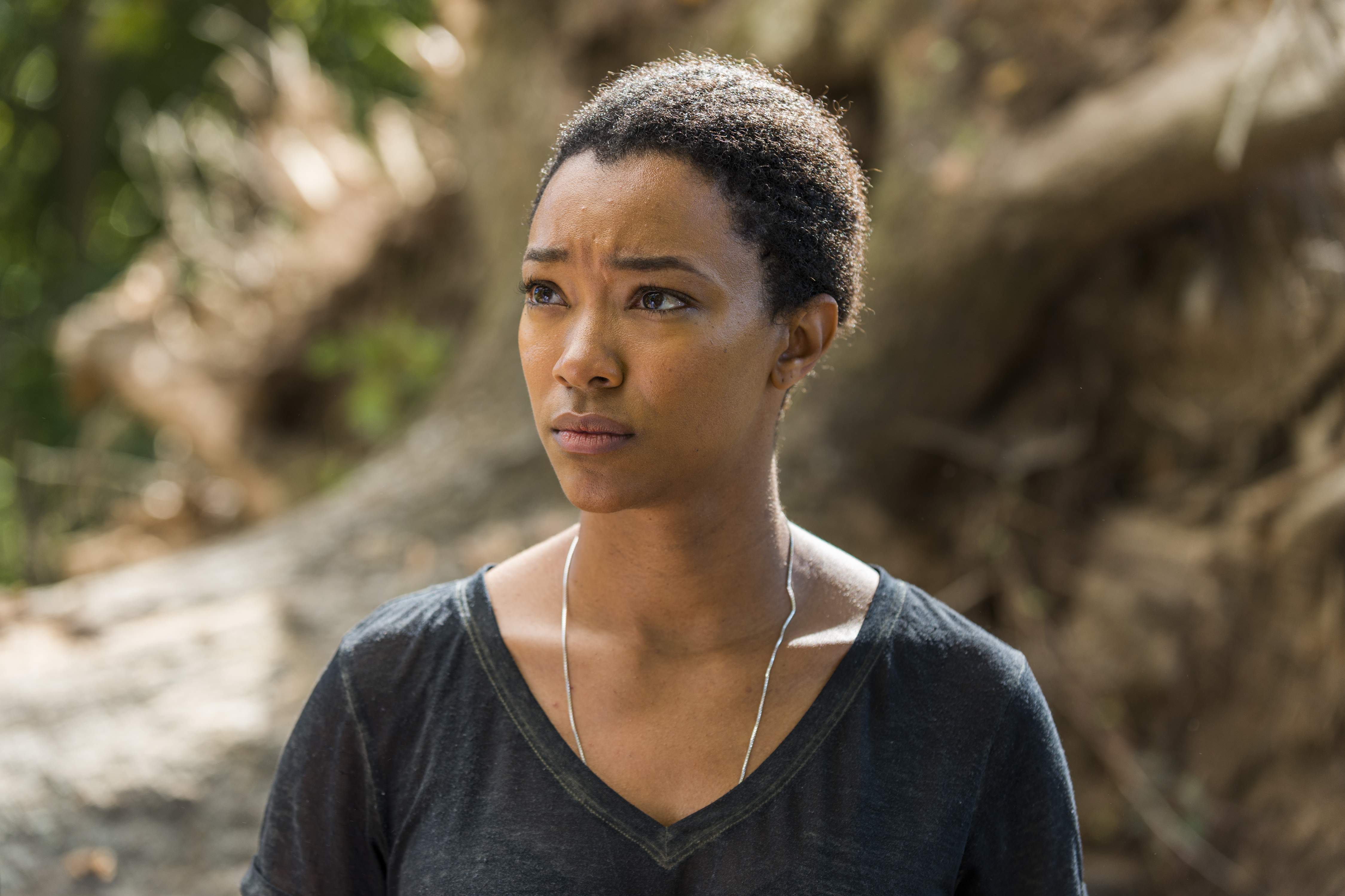 Sasha Williams (Sonequa Martin-Green) - The Walking Dead Saison 7 Épisode 14 - Photo: Gene Page/AMC