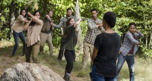 Enid (Katelyn Nacon), Sasha Williams (Sonequa Martin-Green)- The Walking Dead Saison 7 Épisode 14 - Photo: Gene Page/AMC