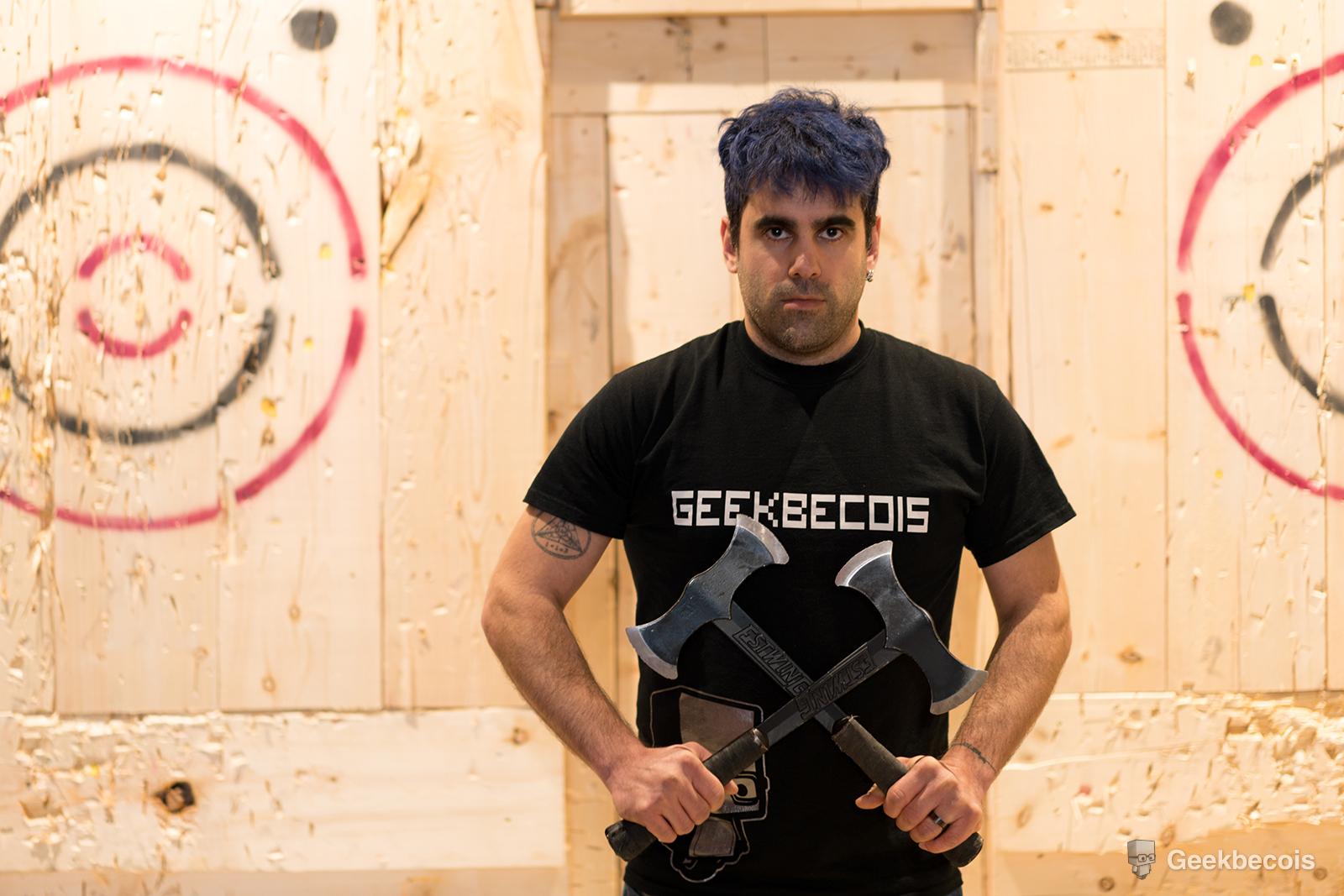 Rage : Centre de lancer de la hache de Montréal