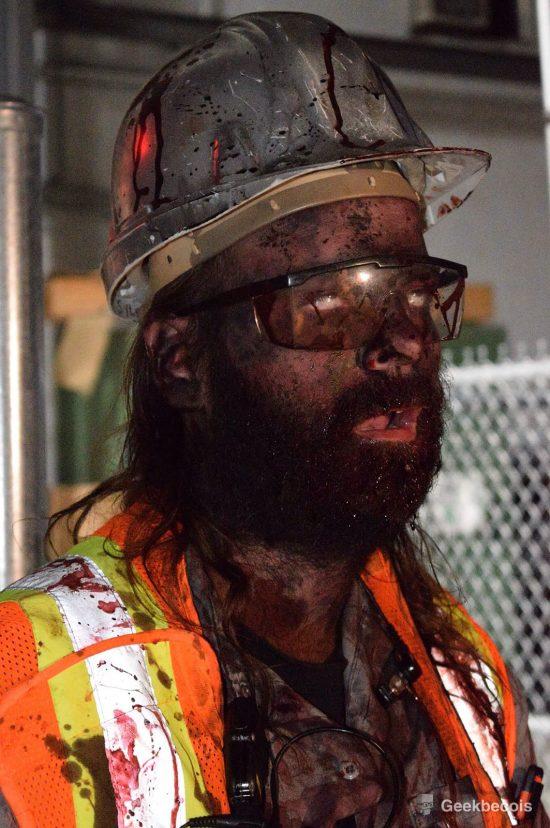 Un des nombreux acteurs participant au projet Fear The Walking Dead. | Crédit photo: Simon Gauthier