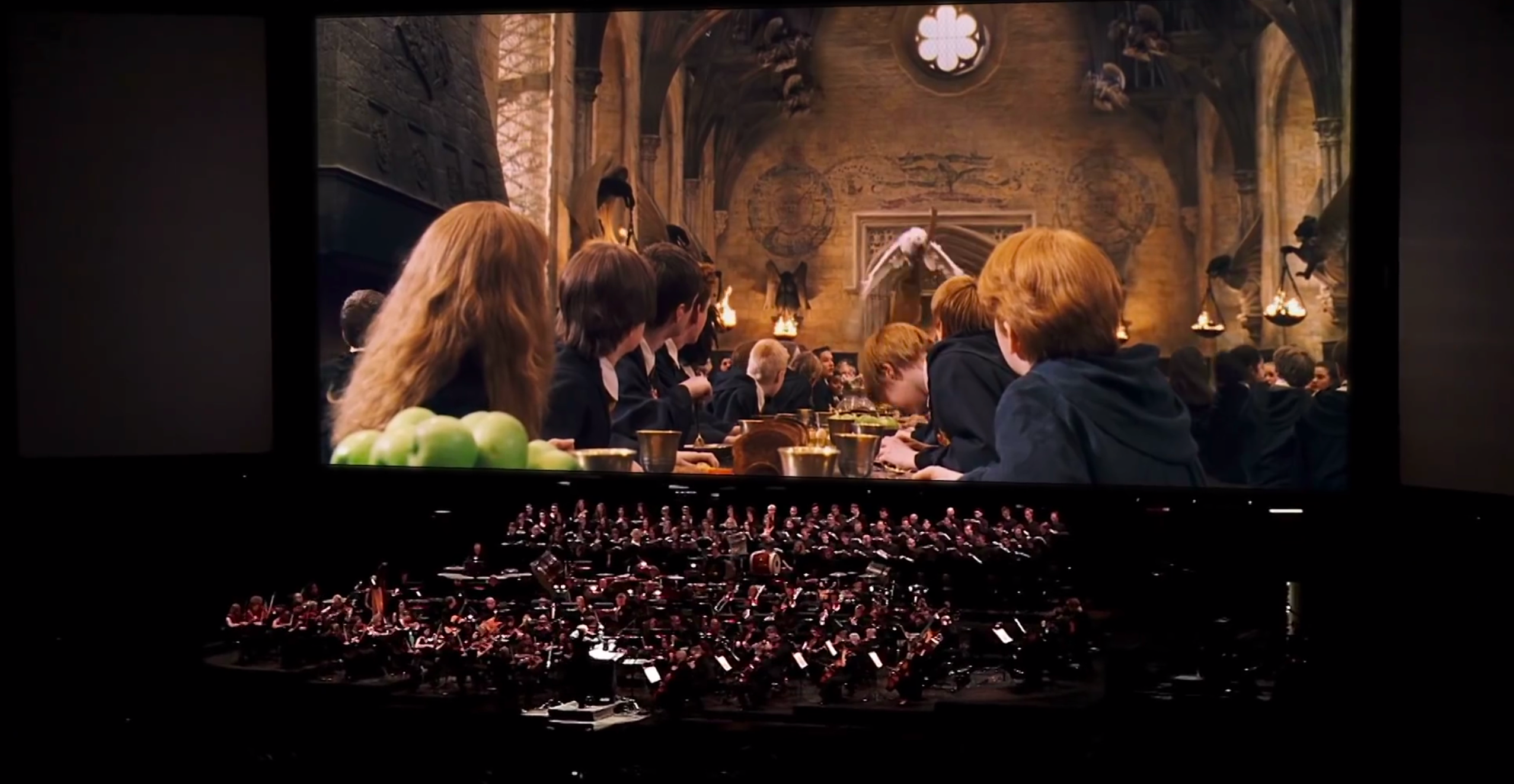 Capture d'écran YouTube de la vidéo promotionnelle | Cinéconcert Harry Potter and the Philosopher's Stone