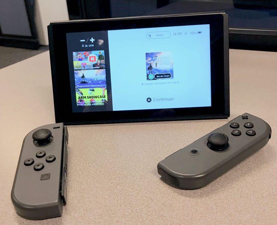 Nintendo Switch - Photo par Christian Jarry