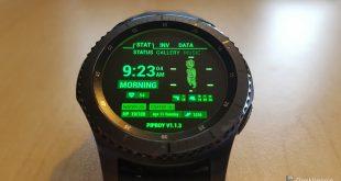 Pipboy | Samsung Gear S3 Frontier