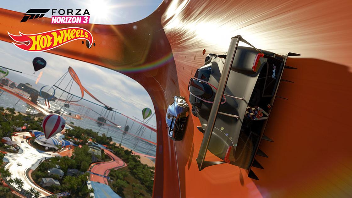 Oubliez le réalisme dans Forza Horizon 3 Hot Wheels et dites bonjour au pur divertissement!