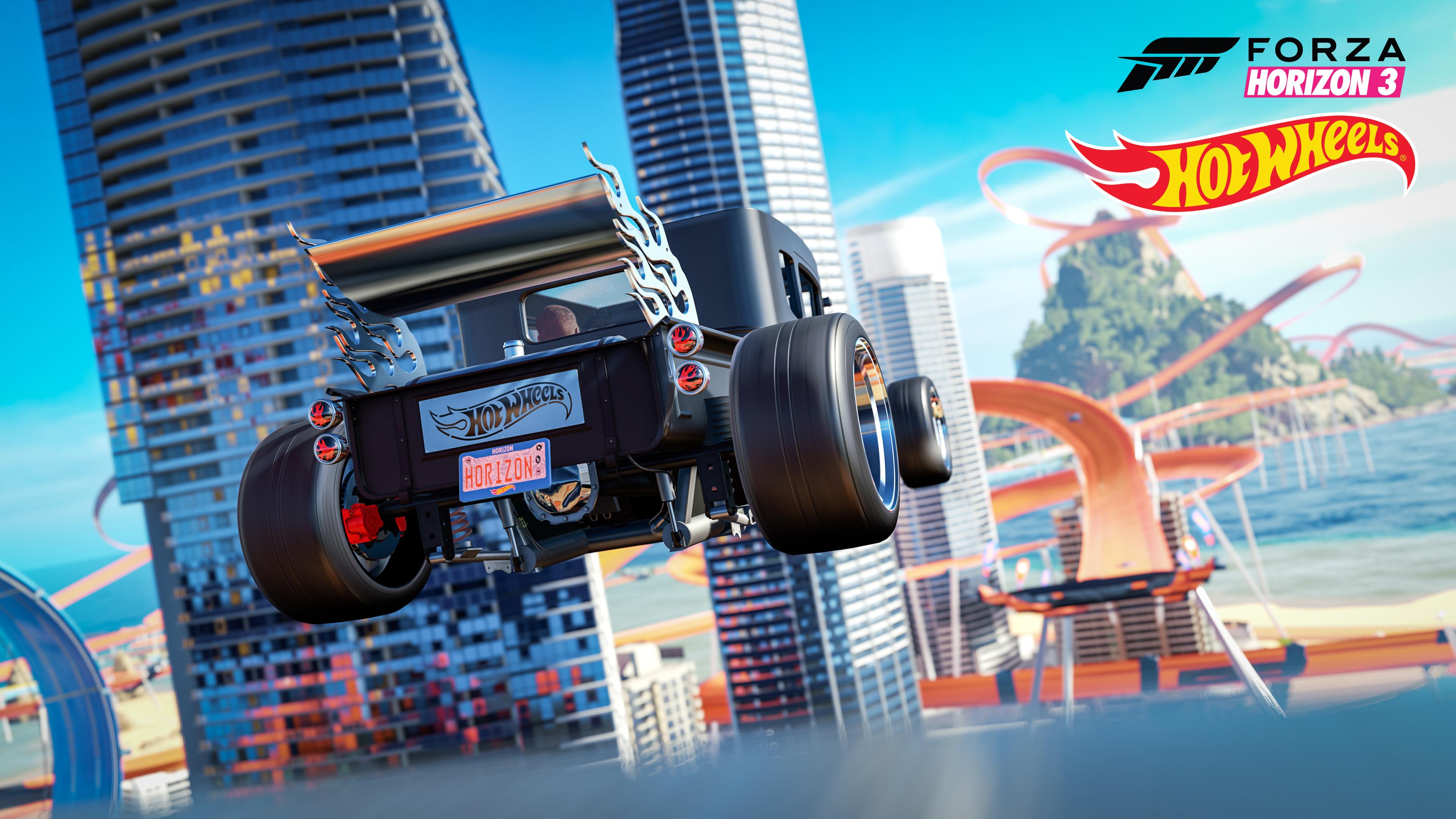 Défiez la gravité à bord de votre bolide de course dans Forza Horizon 3 Hot Wheels
