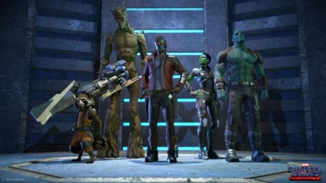 Les personnages utilisent le style de la bande dessinée, qui est légèrement différente de celle des films